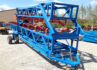 Road Towable Radial Stacker
