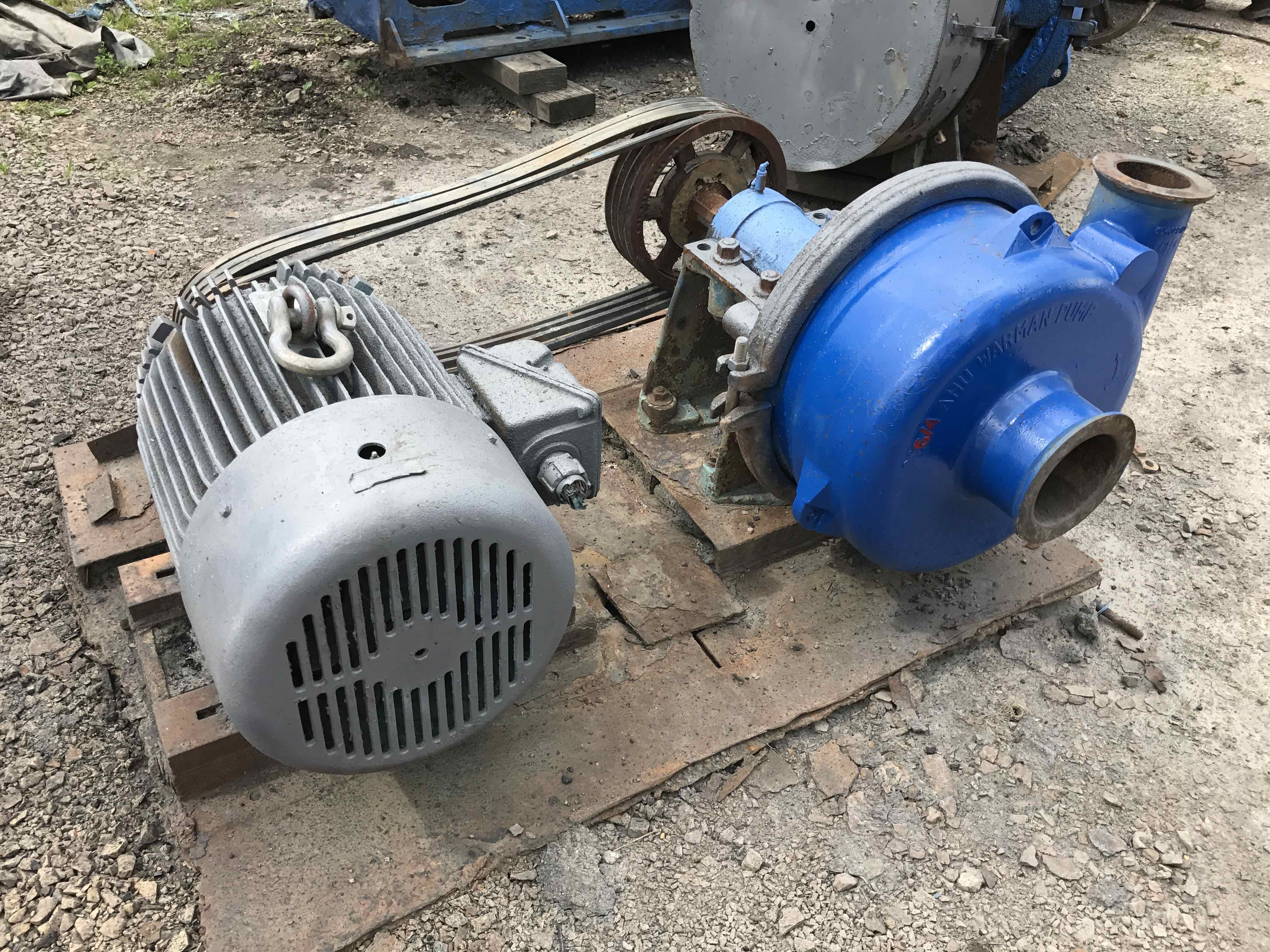 warman 6x4 ahu pump