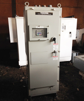 toshiba 100hp variable frequency drive