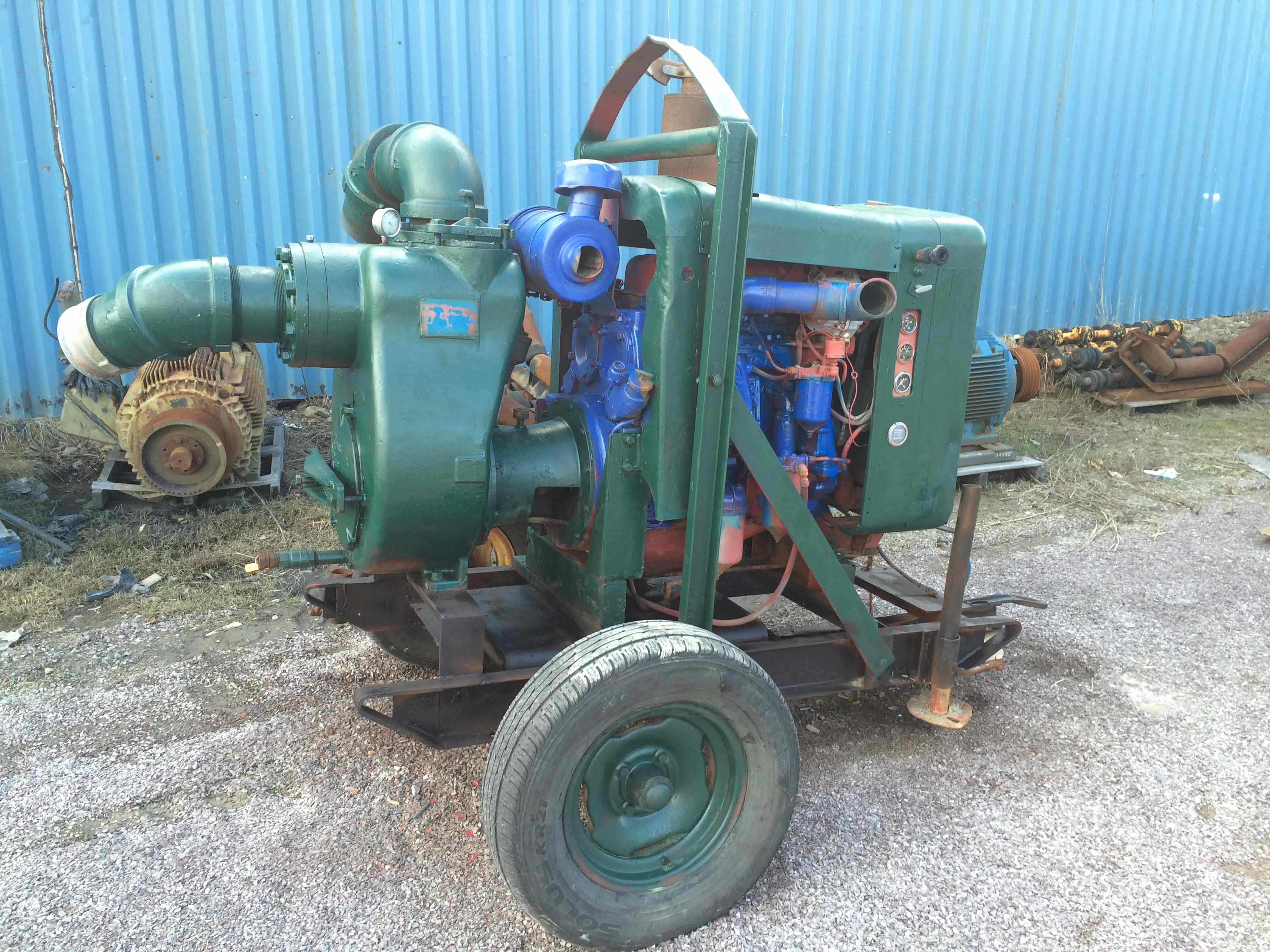 gorman rupp 6 inch diesel trash pump