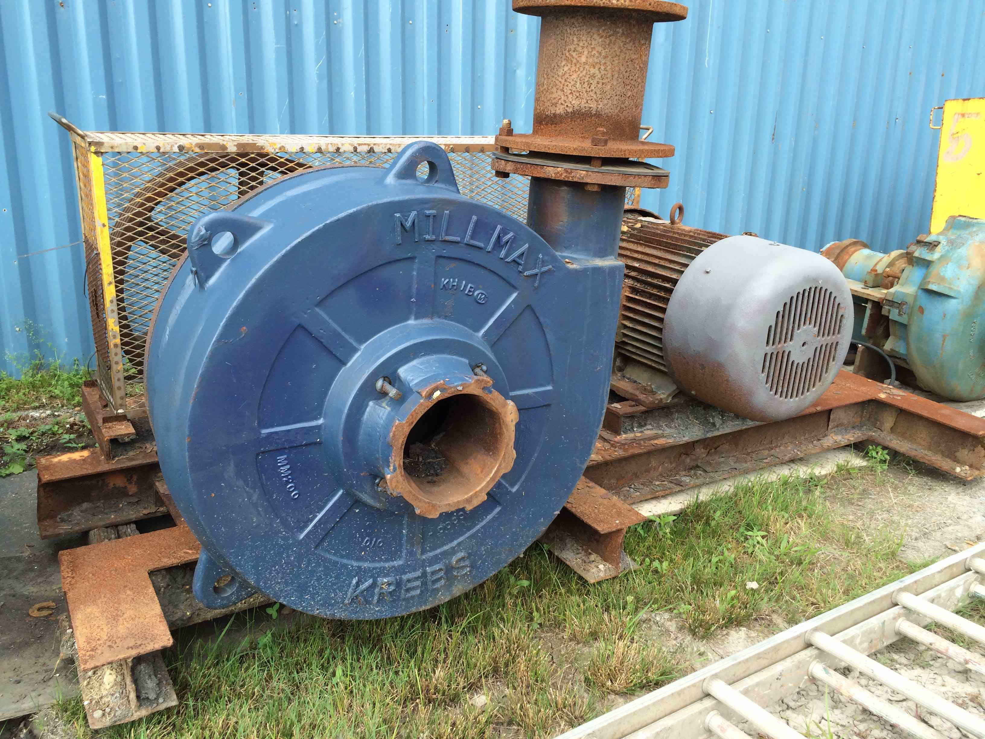 krebs millmax mm200 100hp horizontal