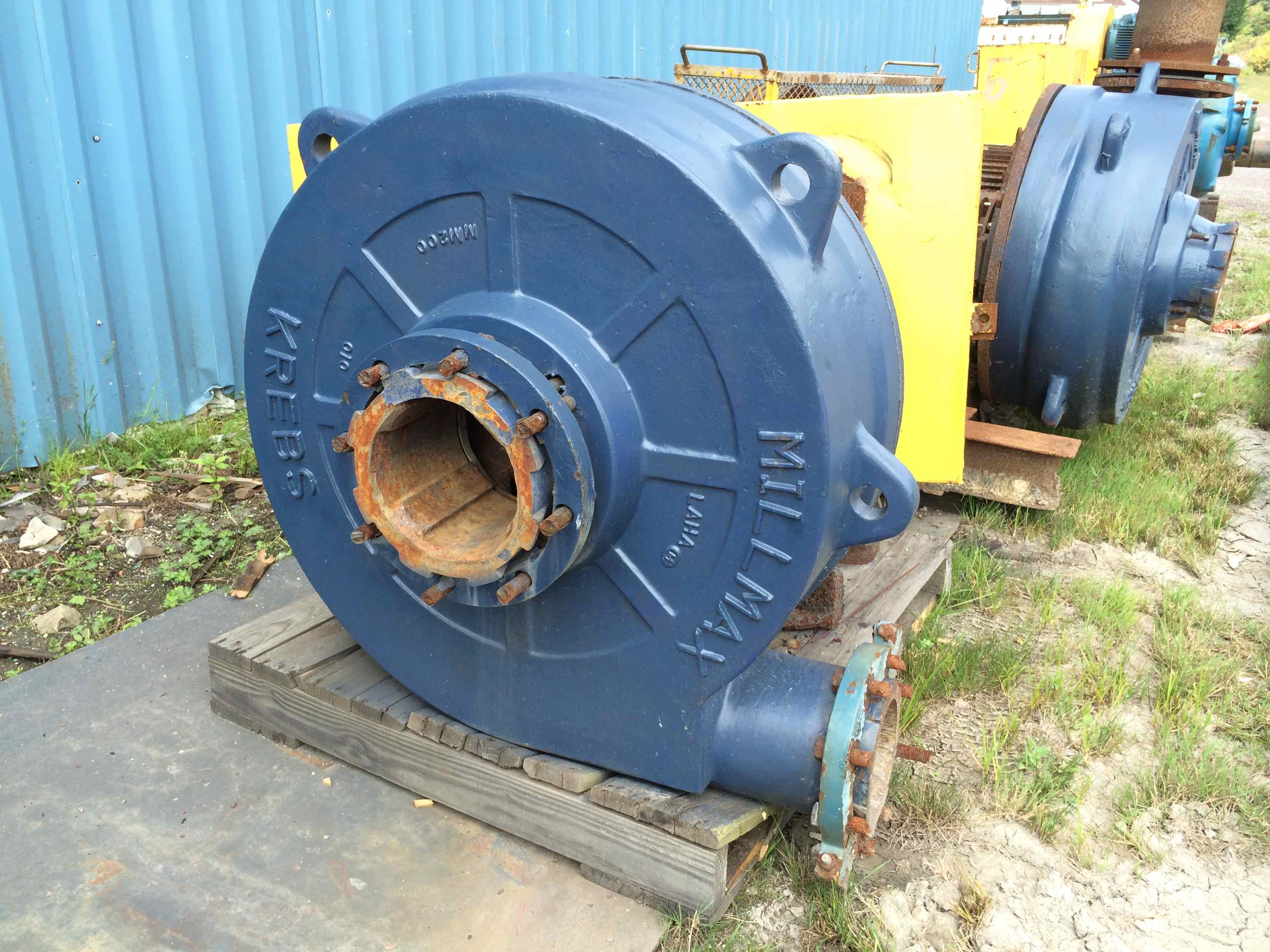 krebs millmax mm200 no motor
