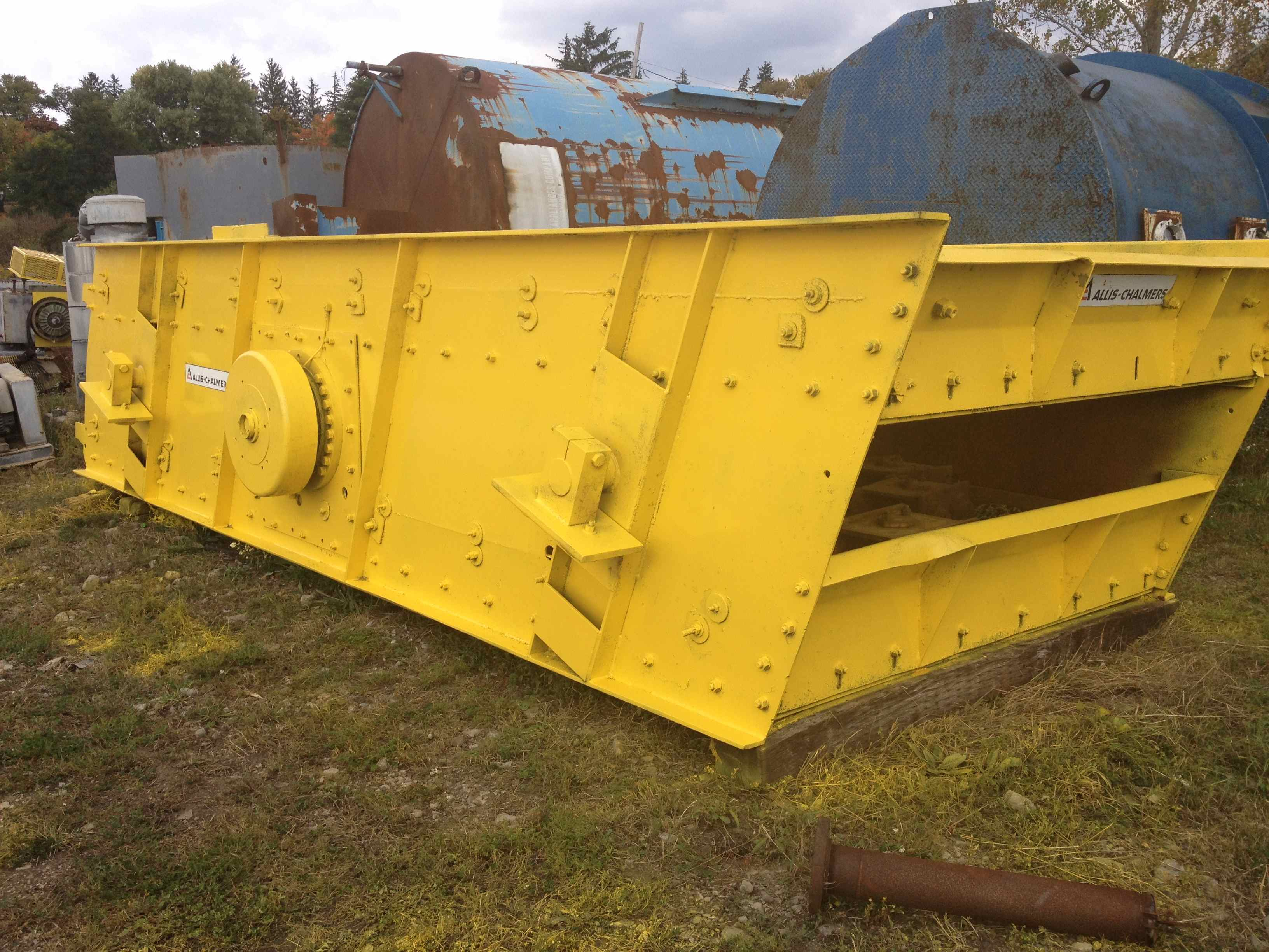 allis chalmers 8x20 double deck incline screen