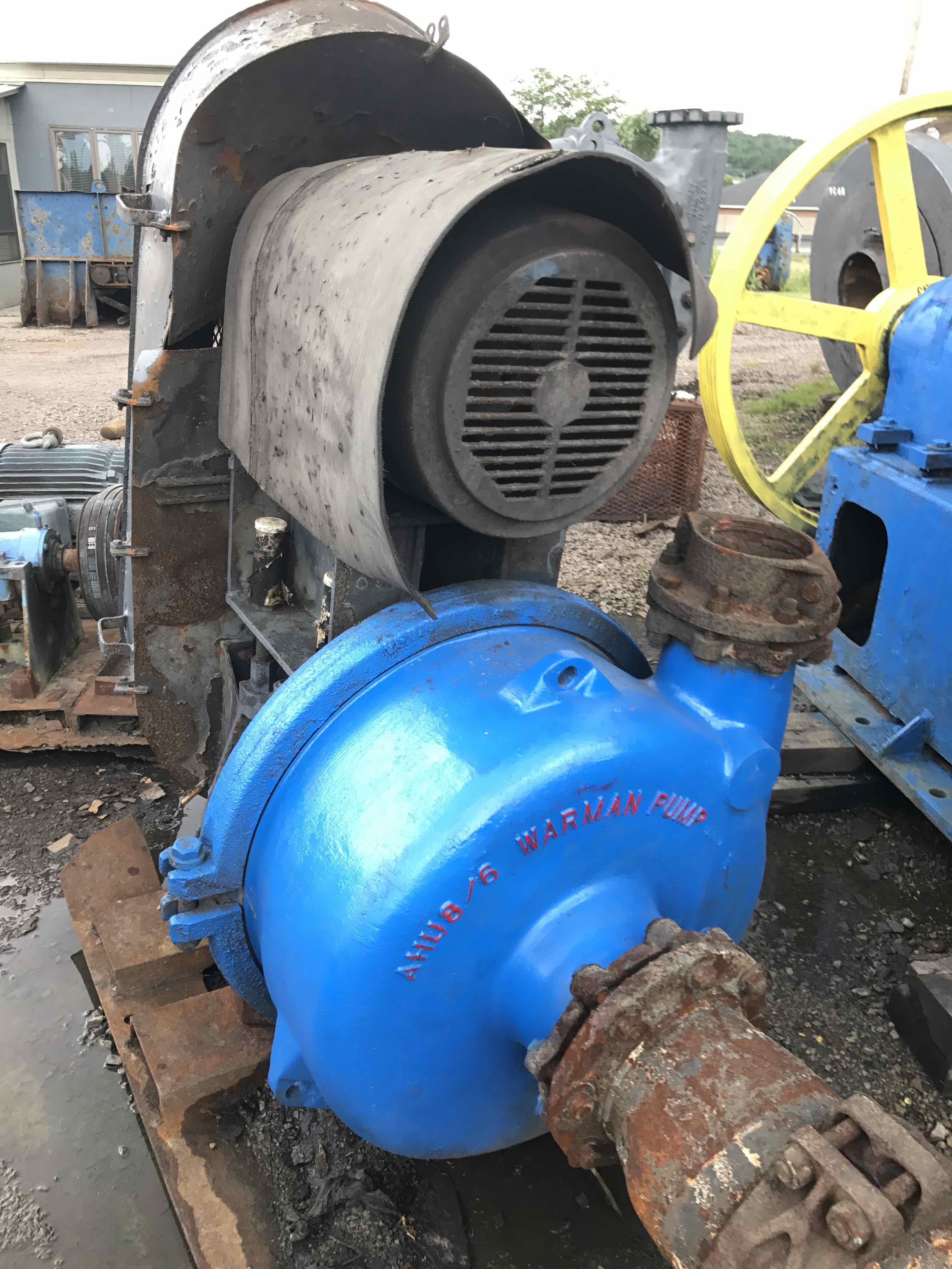 warman 8x6 ahu pump